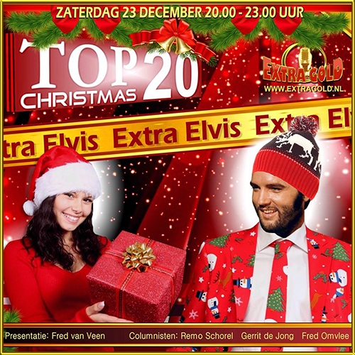 23 december Elvis Christmas Top 20