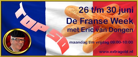 De Franse Top 50 in de Franse week bij Eric van Dongen