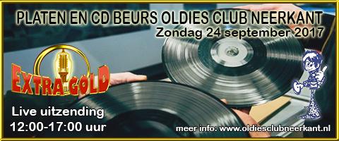 Platen- en CD Beurs Oldies Club Neerkant op 24-09-2017